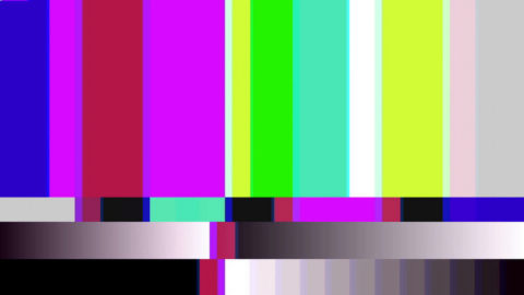 video background 1540 tv color bars malfunction with tv noise loop e1xitoib F0000